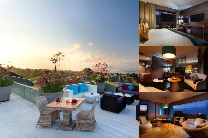Amaroossa Suite Bali photo collage