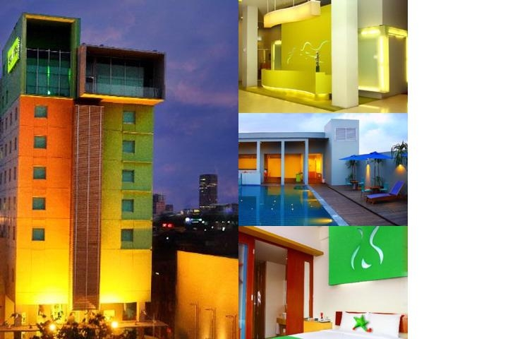 Sparks Hotel Jakarta photo collage