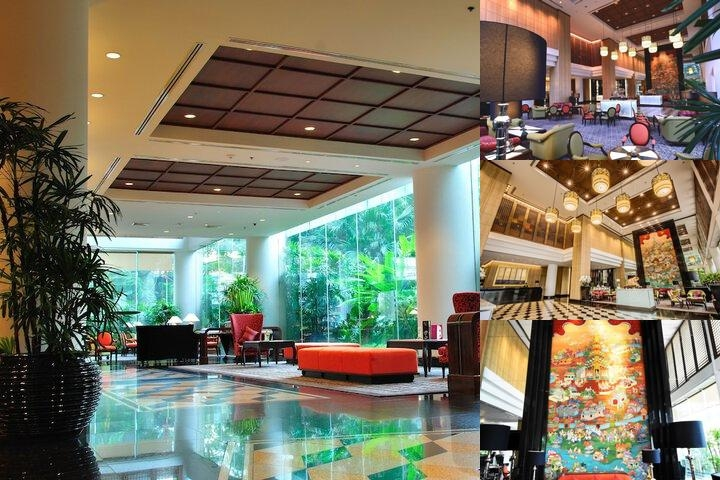 Century Park Hotel photo collage