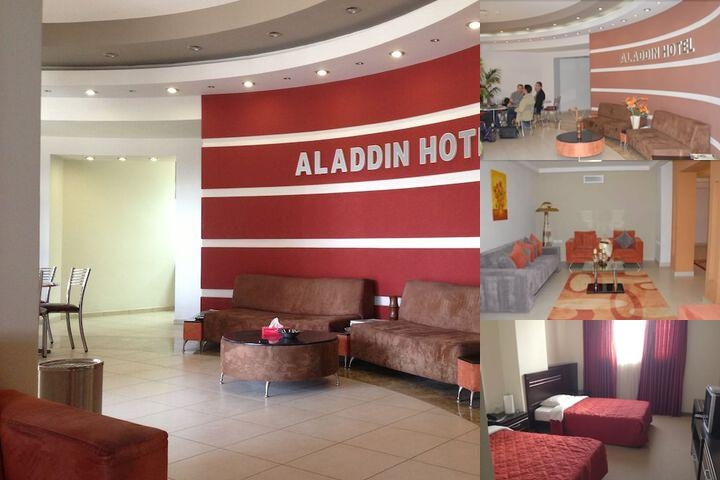 The Aladdin Hotel photo collage