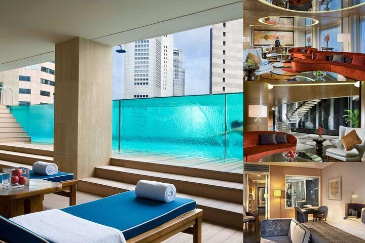 Ascott Raffles Place Singapore photo collage