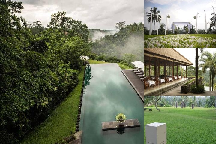 Alila Ubud photo collage