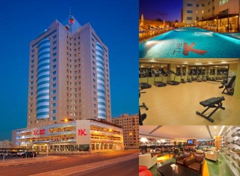 The K Hotel Bahrain photo collage