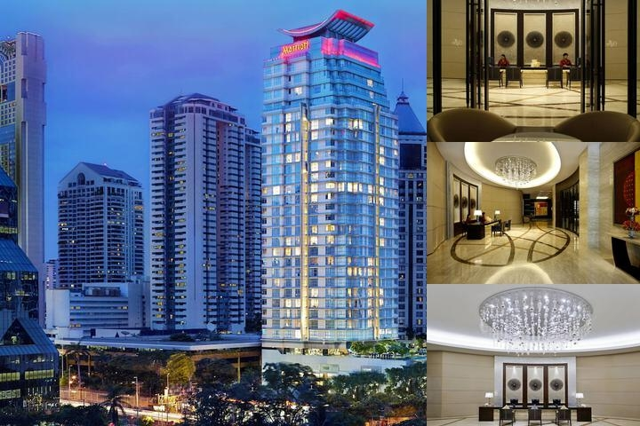 Sathorn Vista Bangkok Marriott Executive Apartment photo collage