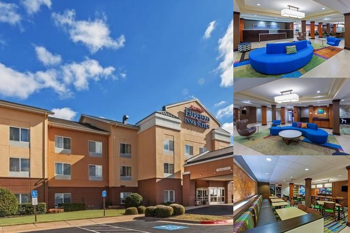 Fairfield Inn & Suites by Marriott Rogers photo collage