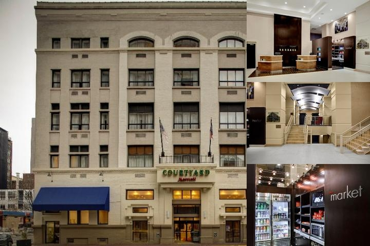 Courtyard by Marriott Columbus Downtown photo collage