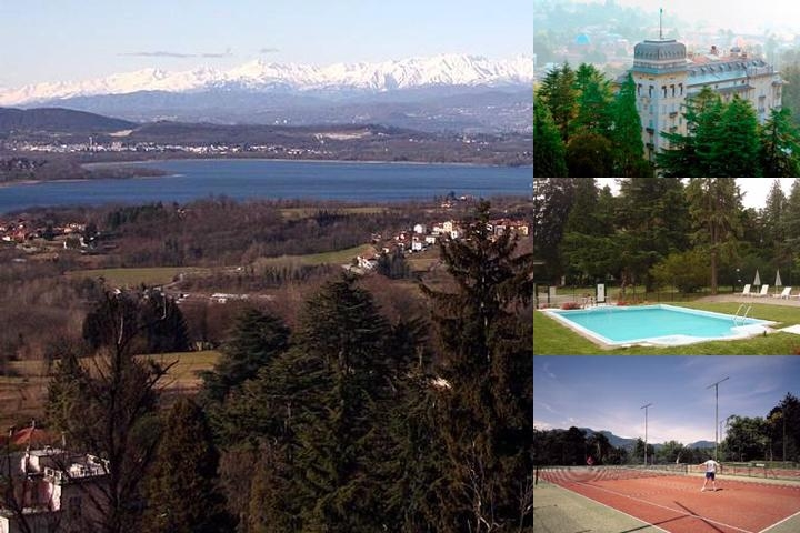 Palace Grand Hotel Varese photo collage