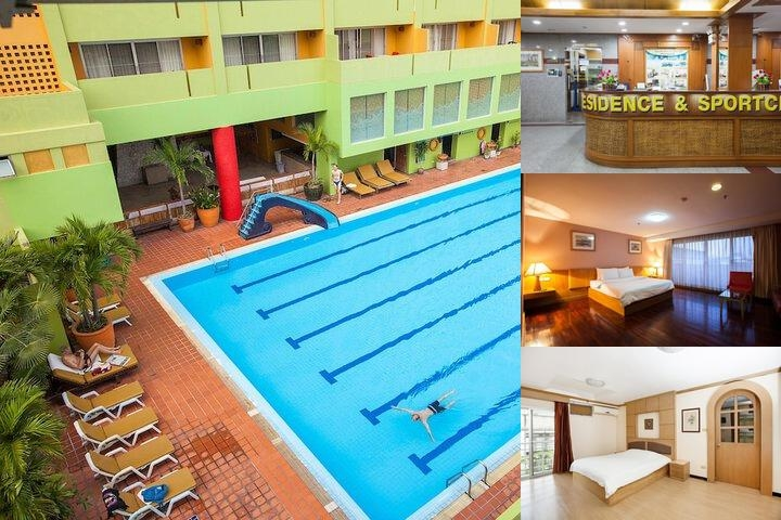 Aiya Residence & Sport Club Bts Budget Hotel photo collage