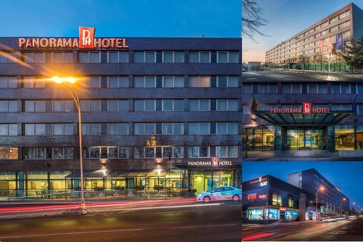 Panorama Hotel photo collage