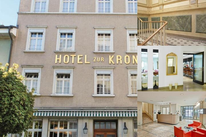 Sorell Hotel Krone photo collage