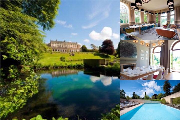 Cowley Manor photo collage
