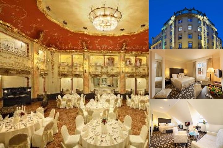 Grand Hotel Bohemia photo collage