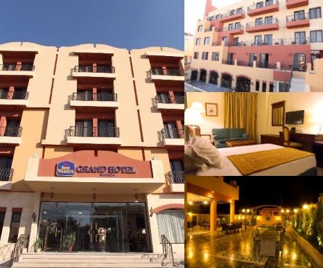 Grand Hotel Madaba photo collage