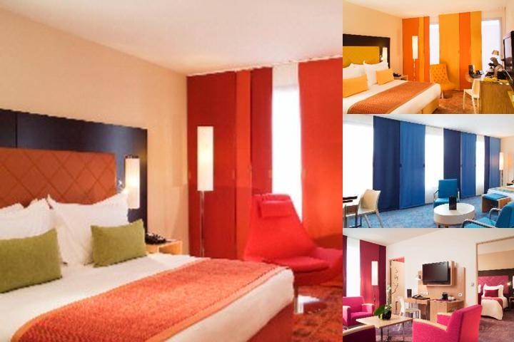 Radisson Blu Hotel Toulouse Airport photo collage