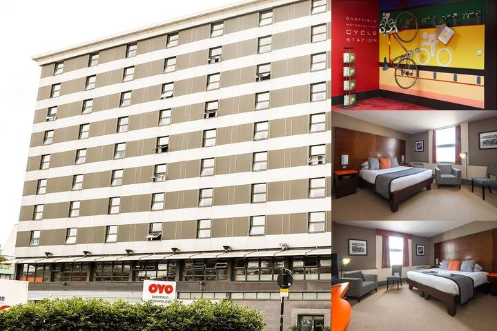 Oyo Sheffield Metropolitan Hotel photo collage