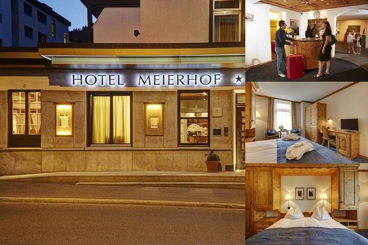 Hotel Seehof Davos photo collage