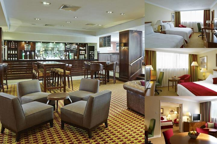 Cardiff Marriott Hotel photo collage