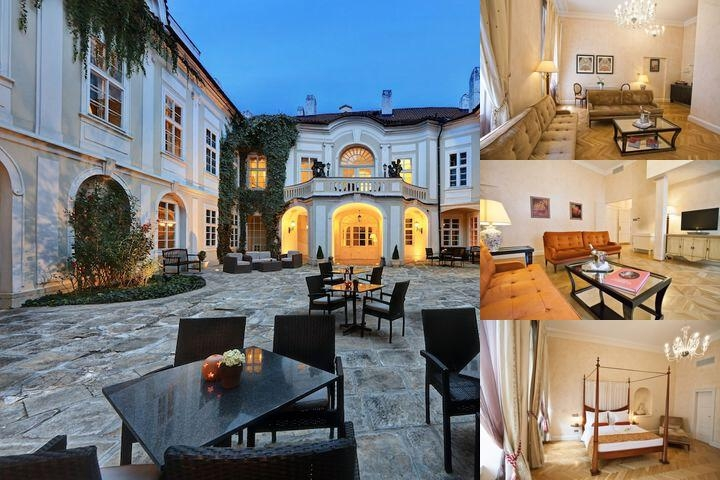 Mamaison Suite Hotel Pachtuv Palace Prague photo collage