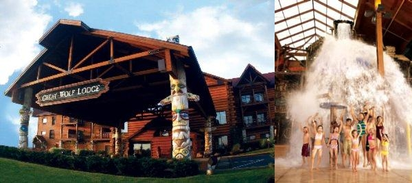 Great Wolf Lodge Sandusky Oh photo collage