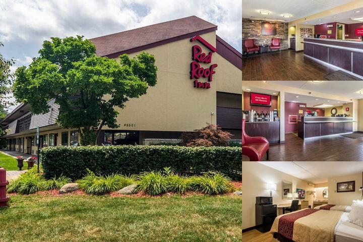 Beautiful Red Roof Inn Belleville Photo Collage