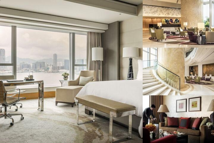 Four Seasons Hotel Hong Kong photo collage