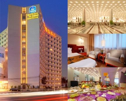 Best Western Ol Stadium Hotel Beijing photo collage