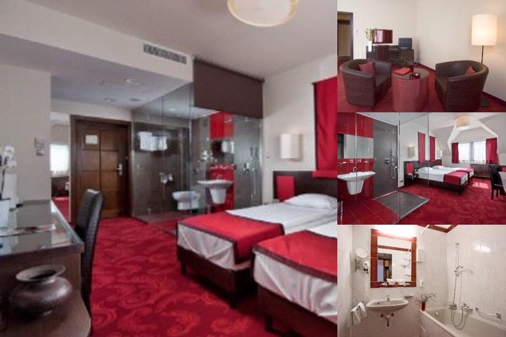 Rubin Wellness & Conference Hotel Budapest photo collage