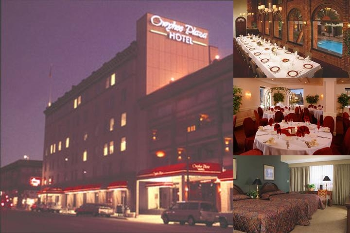 Owyhee Plaza Hotel photo collage