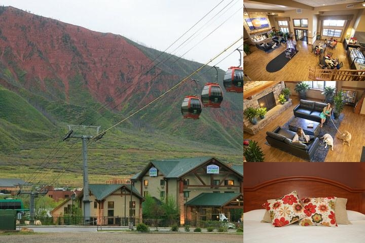 Hotel Glenwood Springs photo collage