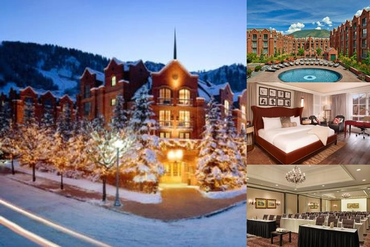 The St. Regis Aspen Resort photo collage