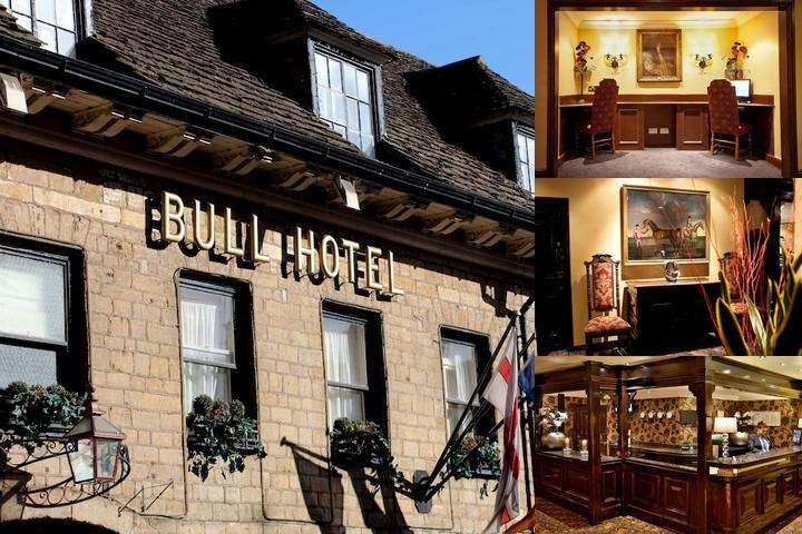 Bull Hotel photo collage