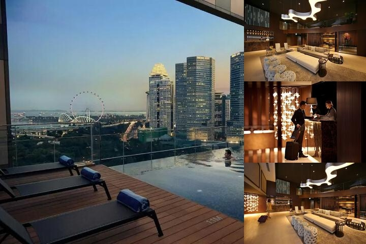 Pan Pacific Serviced Suites Beach Road Singapore photo collage
