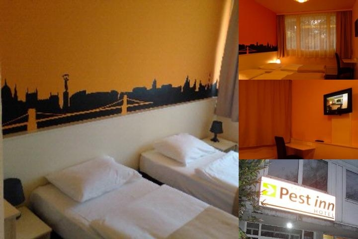 Hotel Pest Inn photo collage
