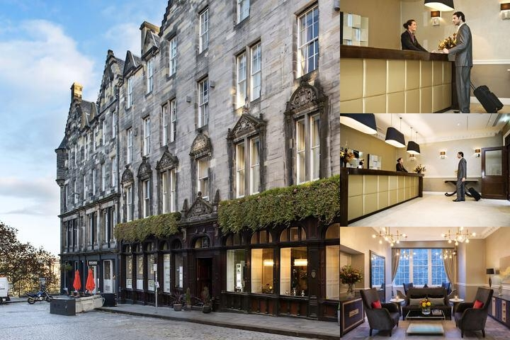 Fraser Suites Edinburgh photo collage