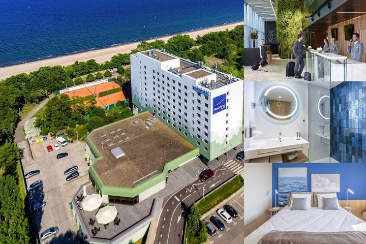 Novotel Gdansk Marina photo collage