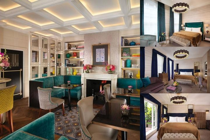 Flemings Hotel Mayfair photo collage