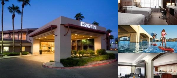 Sheraton Phoenix Airport Hotel Tempe photo collage