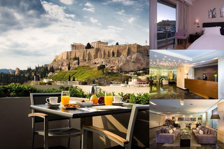 Athens Gate Hotel photo collage