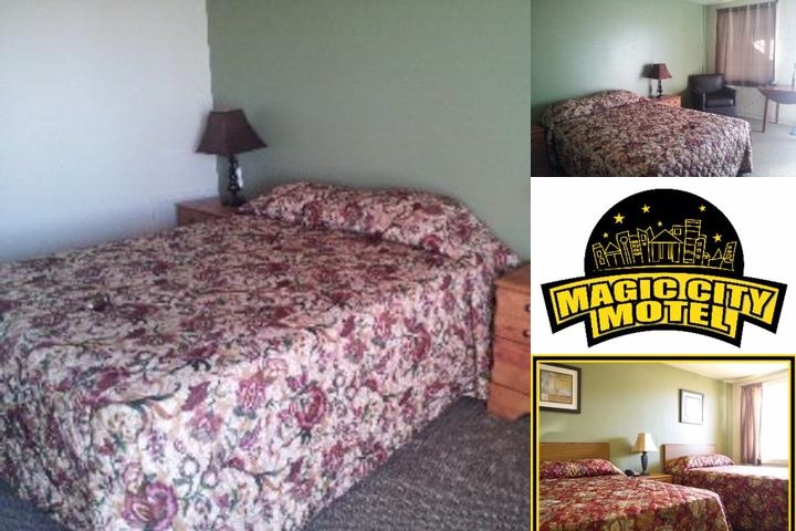 Magic City Hotel photo collage