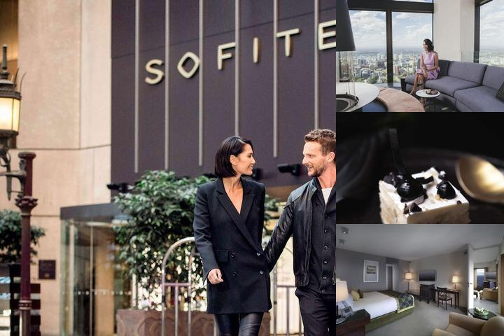Sofitel Melbourne photo collage