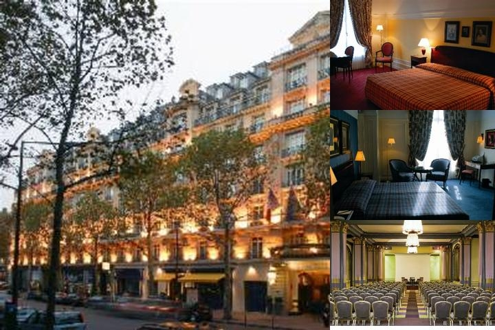 Hôtel Radisson Blu Ambassador Paris Opera photo collage