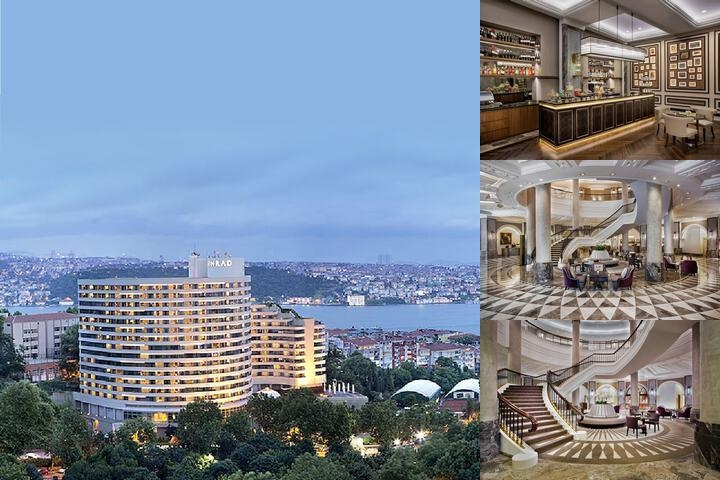 Conrad Istanbul Bosphorus photo collage