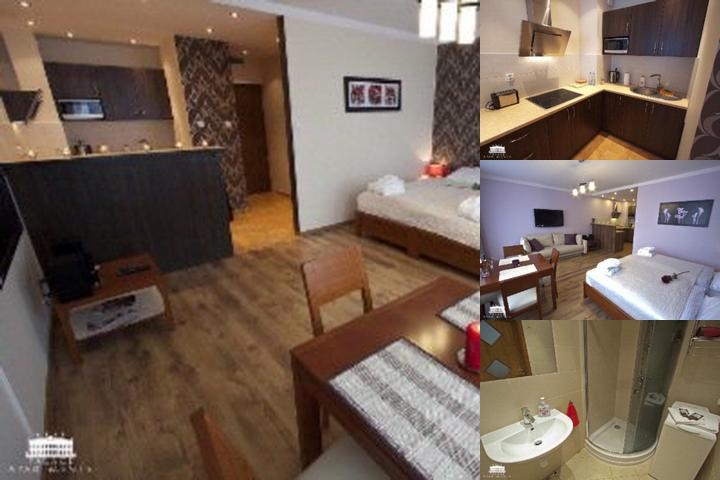Palace Apartments Krakow photo collage