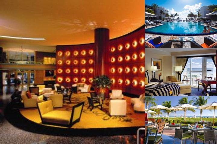 The Ritz Carlton Hotel South Beach photo collage