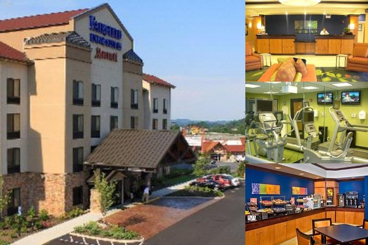Fairfield Inn & Suites Kodak photo collage