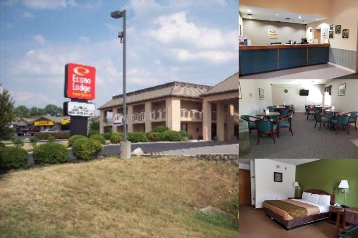 Econo Lodge Inn & Suites Knoxville East photo collage