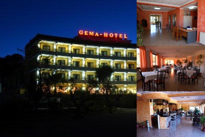 Gema Hotel photo collage