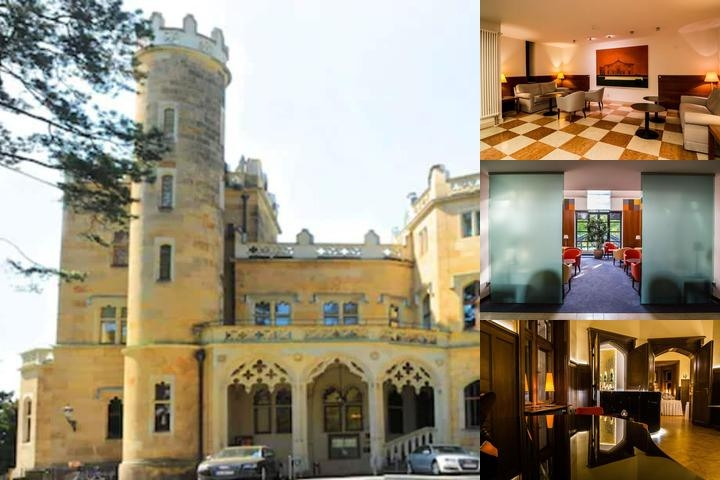 Hotel Schloss Eckberg photo collage