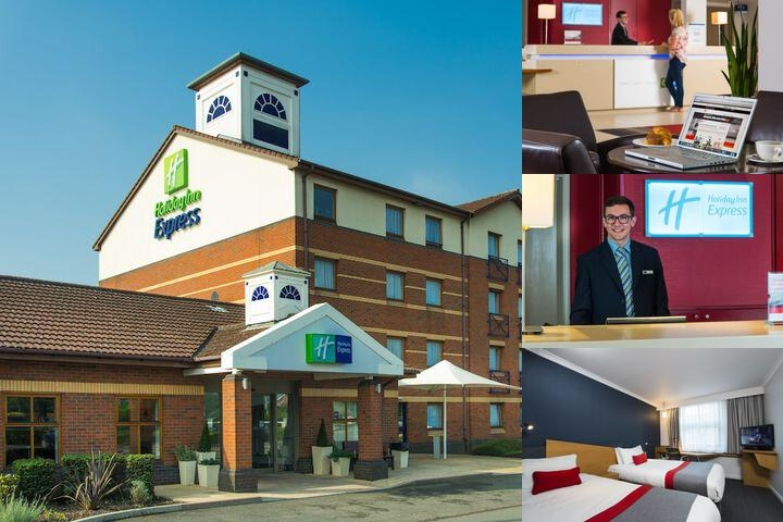 Holiday Inn Express Derby Pride Park photo collage