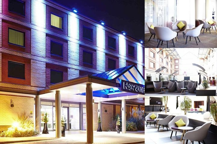 Novotel London Heathrow photo collage